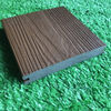 Co Extrusion Hollow WPC Deck Flooring Anti Scratch For Outdoor