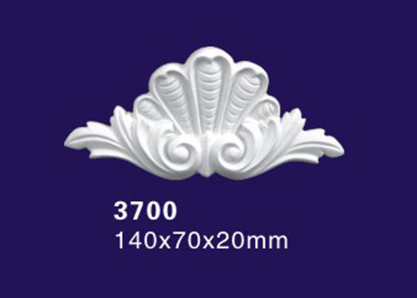 White Color Polyurethane Ornaments Accessories For Ceiling And Wall