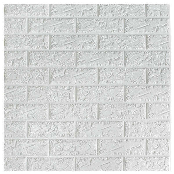 Classic Brick Design Self Adhesive Wall Panels / Decorative Foam Board Wall Panel